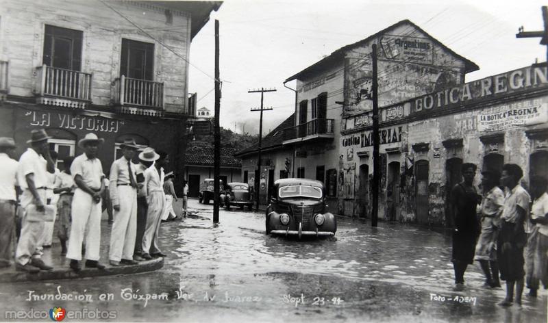 INUNDACION ESCENA CALLEJERA DE 1944