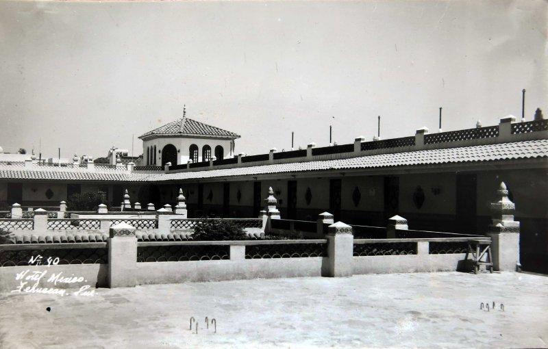 HOTEL MEXICO Circa 1930-1950