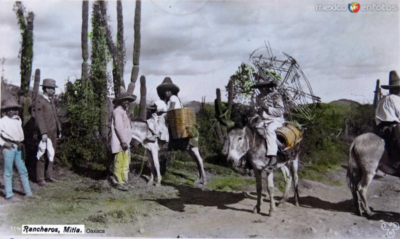 RANCHEROS Circa 1900-1920