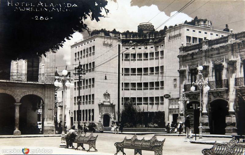 HOTEL ALAMEDA Circa 1930-1950