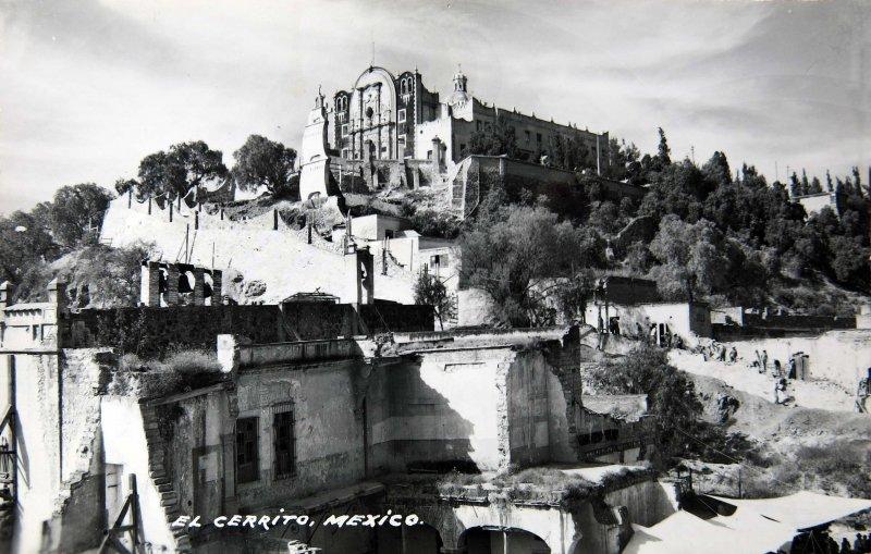 EL CERRITO DEL TEPEYAC Alrededor de 1930-1950
