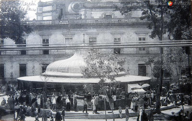 Mercado de las Flores Circa 1900-1920
