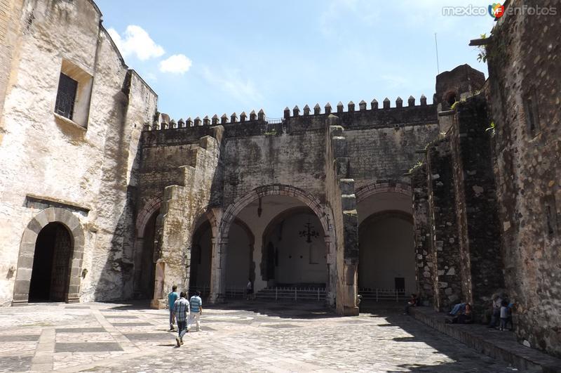 Capilla abierta del ex-convento del siglo XVI. Septiembre/2015