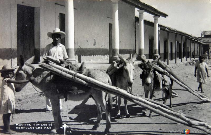 TIPOS MEXICANOS VENDEDORES DE MADERA