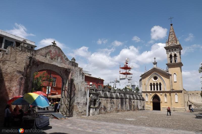 Capilla anexa al ex-convento de Cuernavaca. Septiembre/2015