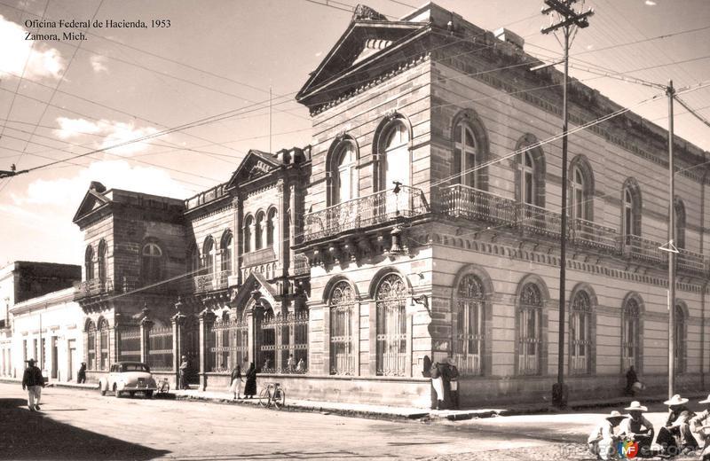 Zamora, Oficina Federal de Hacienda