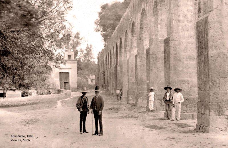 Morelia, Acueducto, 1885-1890
