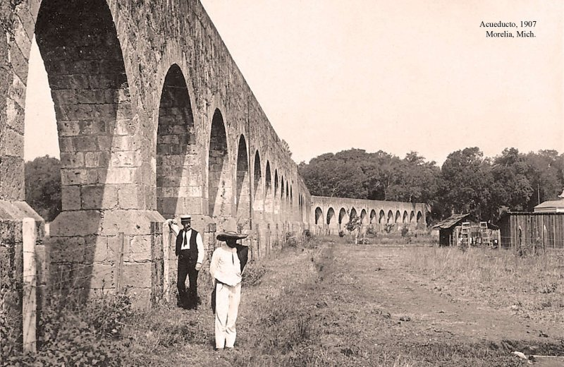 Morelia, Acueducto, 1907