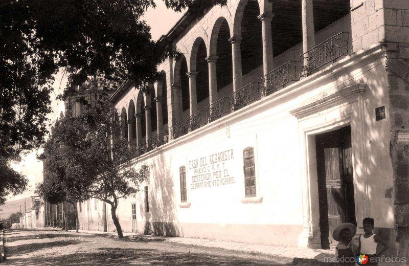 Morelia, Ex Convento de las Rosas, 1943