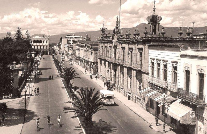Morelia, Avenida Madero, 1948