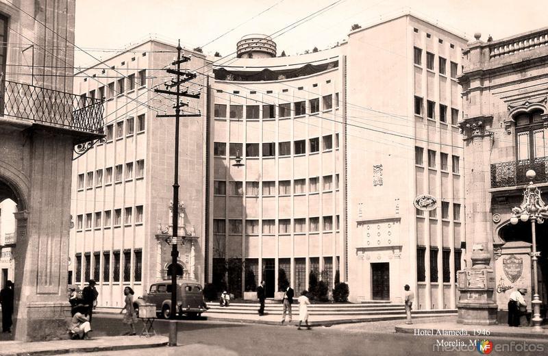 Morelia, Hotel Alameda