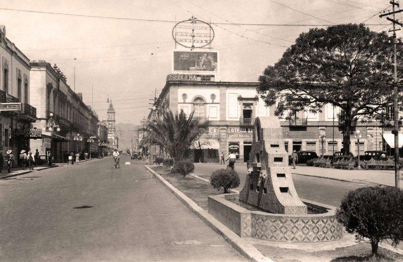 Morelia, Avenida Madero, 1938