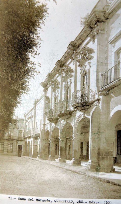 CASA DE EL MARQUEZ Circa 1930-1950