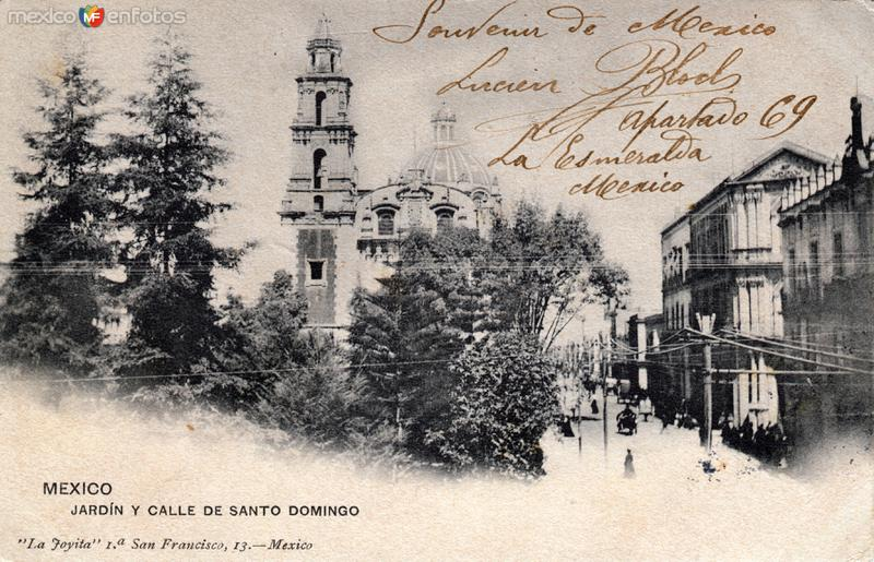 Jardín y Calle de Santo Domingo