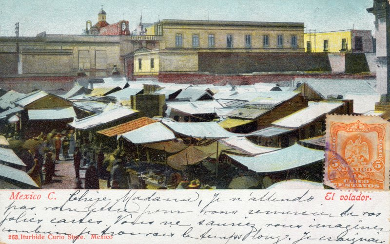 Mercado de El Volador