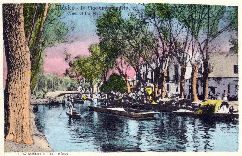 Embarcadero en el Canal de la Viga
