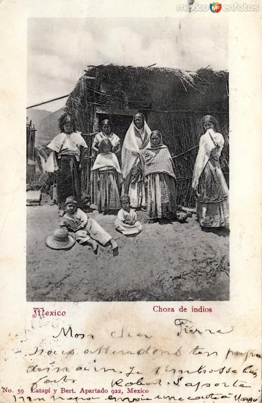 Choza de indios