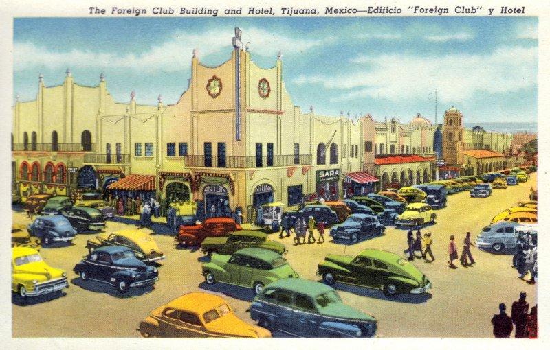 Edificio Foreign Club y Hotel