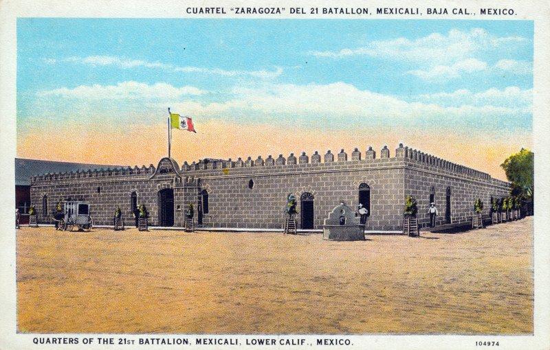 Cuartel Zaragoza del 21 Batallón
