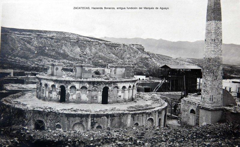 Hacienda Bonanza antigua Fundicion del Marquez de Aguayo circa 1900-1920