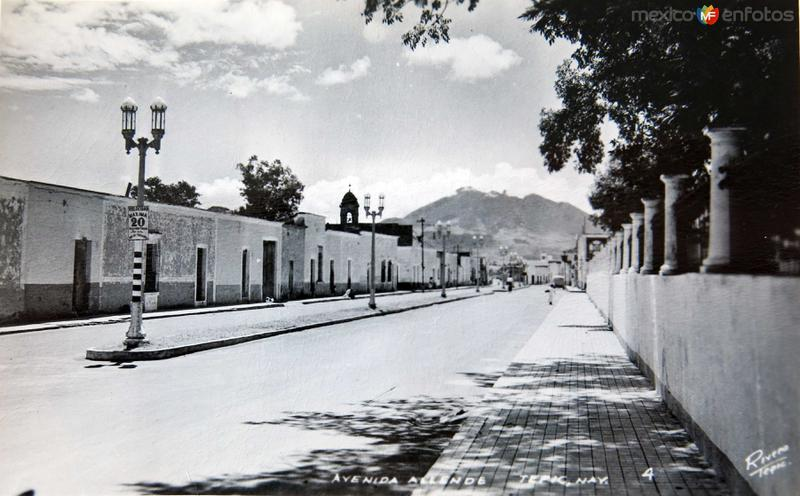 CALLE ALLENDE Circa 1930-1950