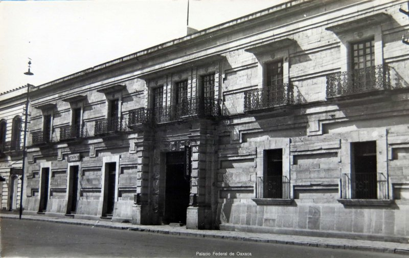 Palacio Federal de Oaxaca
