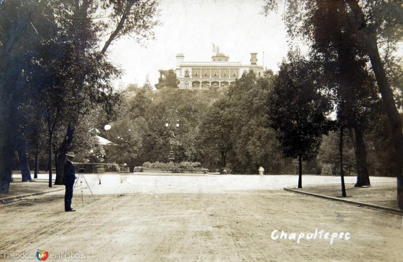 Castillo de Chapultepec Circa 1900-1920