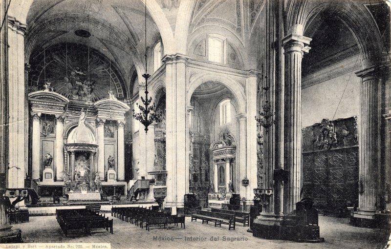 Interior del Sagrario, contiguo a la Catedral
