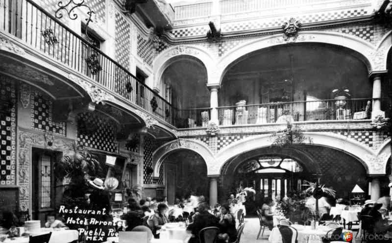 Restaurante del Hotel Arronte