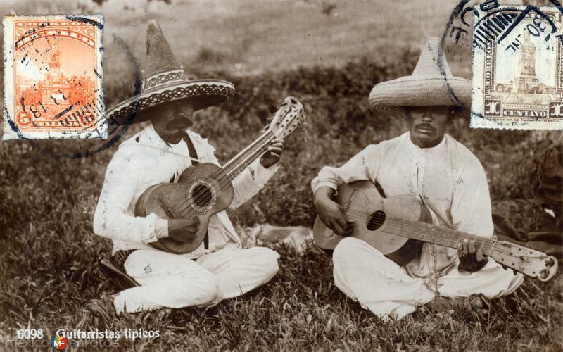 Guitarristas típicos