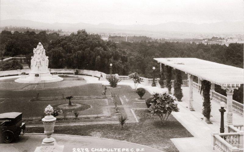 Jardines del Castillo de Chapultepec