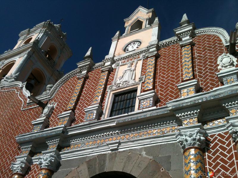 Fachada del templo de San José. Diciembre/2015