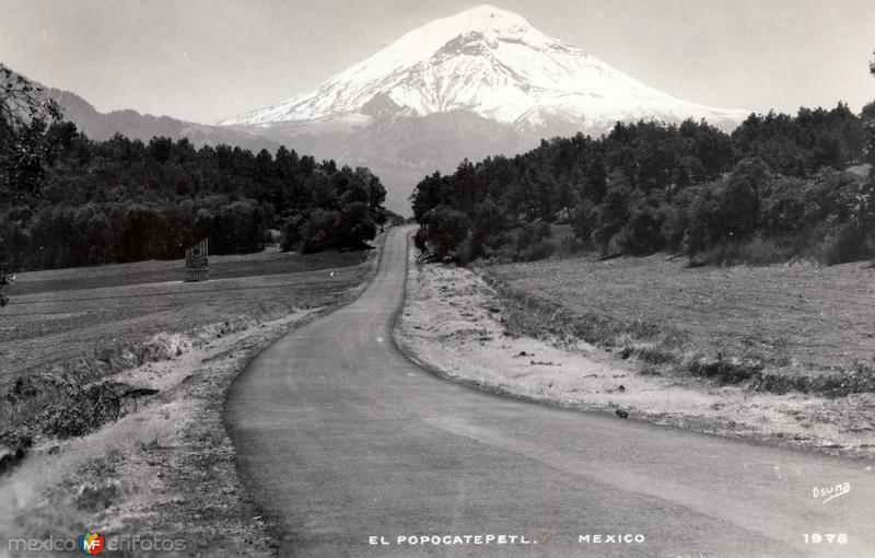 Camino al Popocatépetl