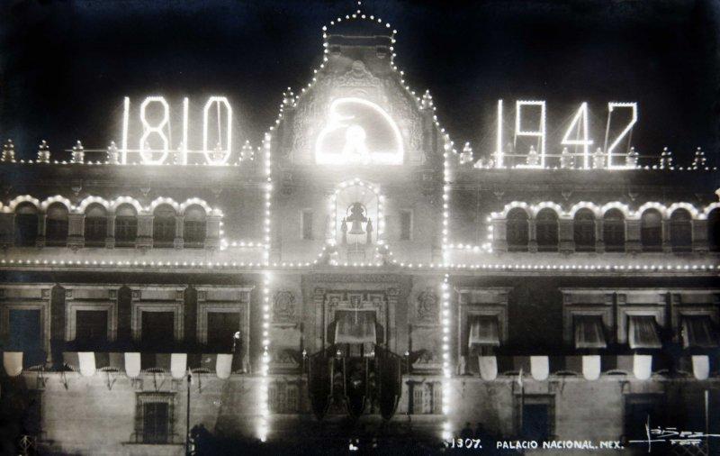 Palacio Nacional en 1942