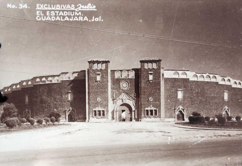 Antiguo Estadio hacia 1930-1950
