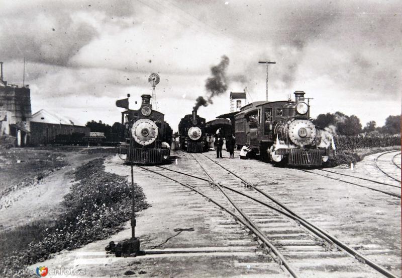 Estacion ferroviaria no identificada