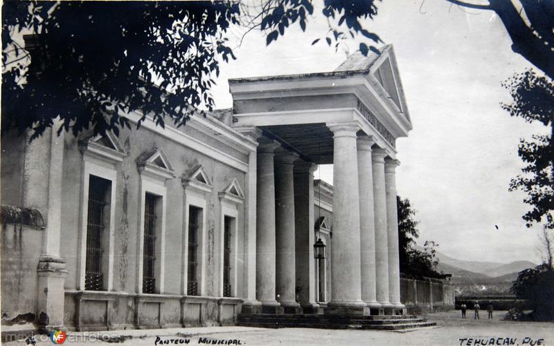 Panteon Municipal hacia 1930-1950