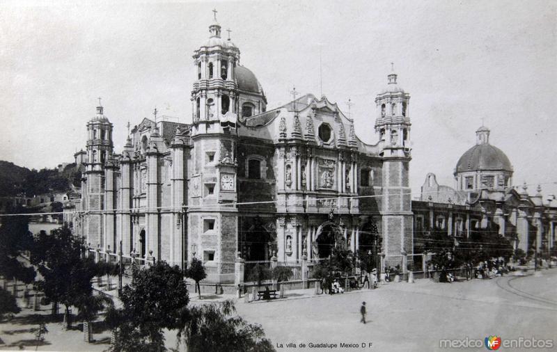 La villa de Guadalupe hacia 1900-1930