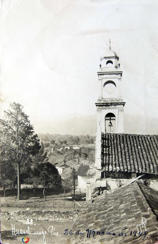 Panorama de la Iglesia hacia 1930-1950