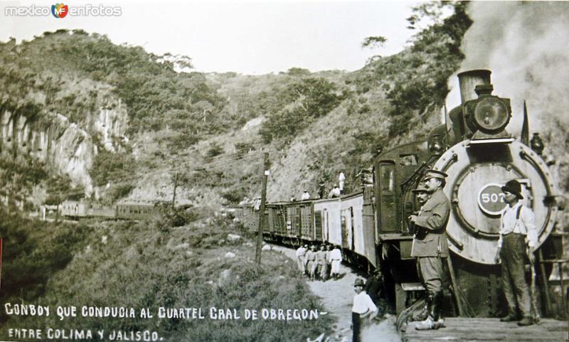 Via Ferrea entre Colima Y Jalisco