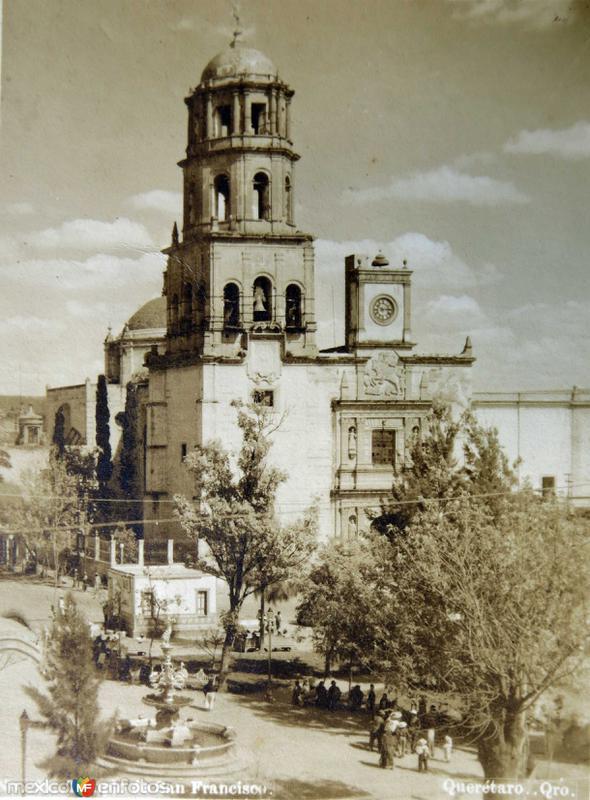 Templo de San Francisco en Queretaro