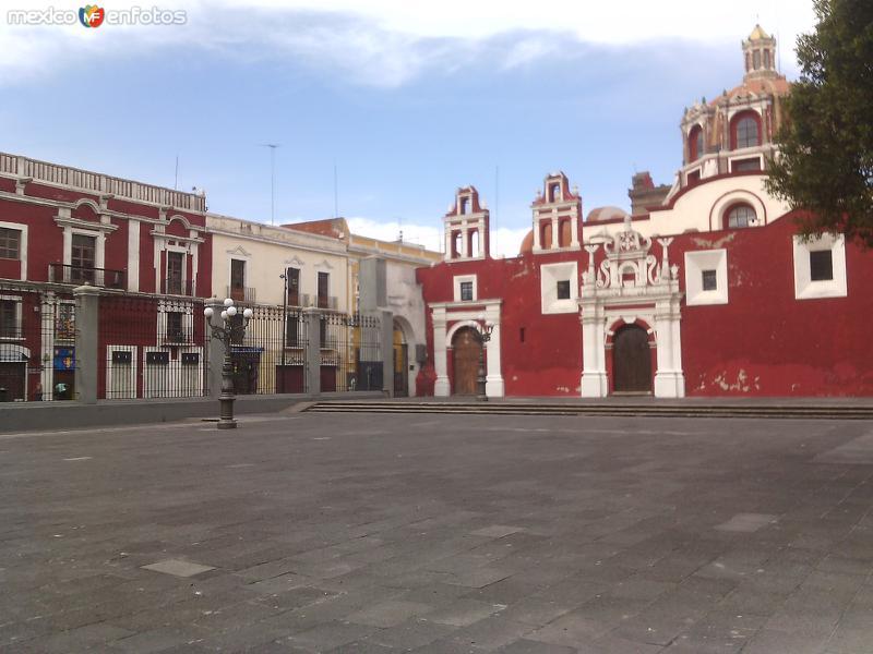 Exterior de la Capilla del Rosario, siglo XVII. Enero/2016