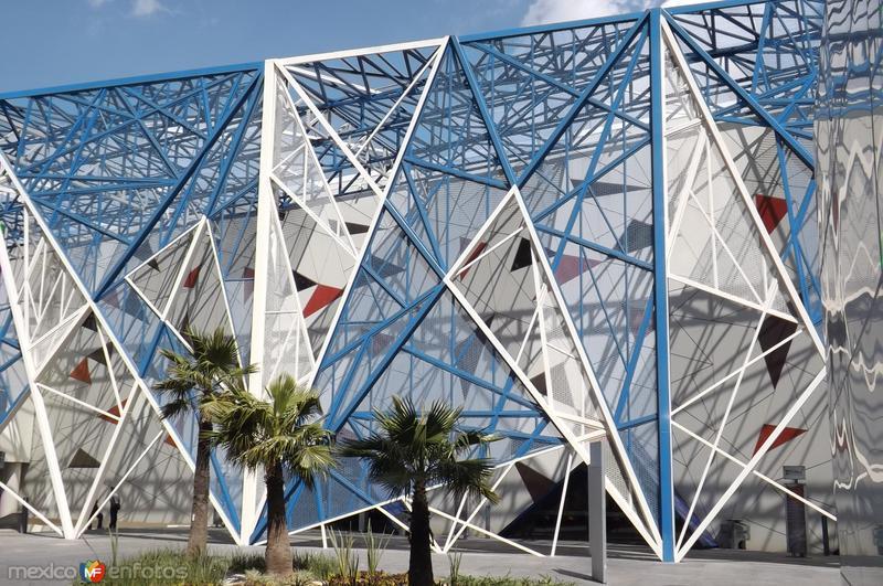El Centro de exposiciones de Puebla. Febrero/2016