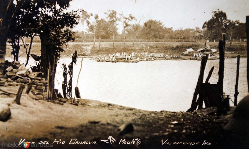 Vista de el Rio Grijalva