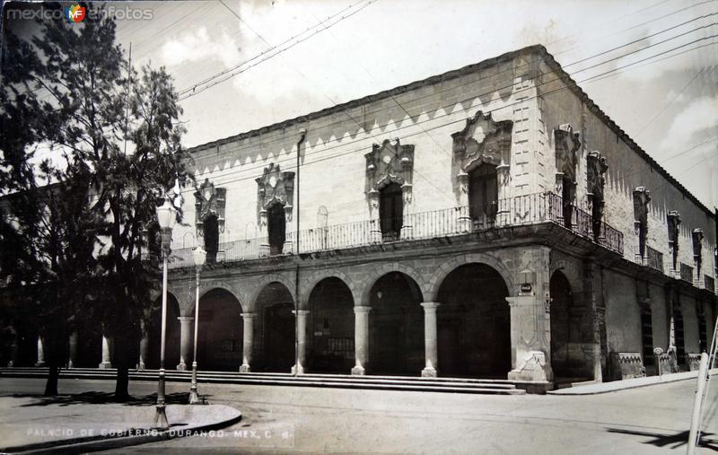 El Palacio de Gobierno Hacia 1930-1950