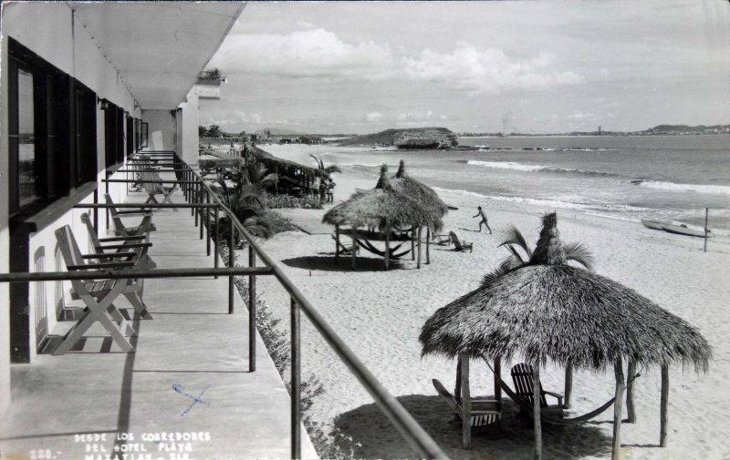 Panoramica desde los corredores del Hotel Playa