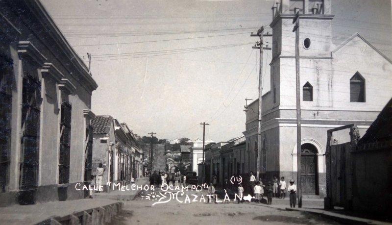 Calle de Melchor Ocampo Mazatlan Sinaloa