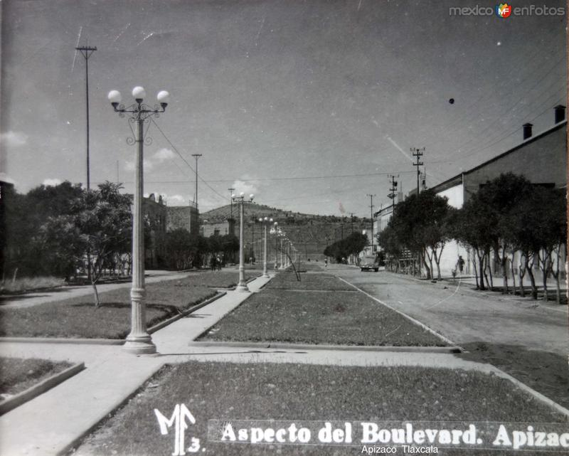 Aspecto de el Boulevard