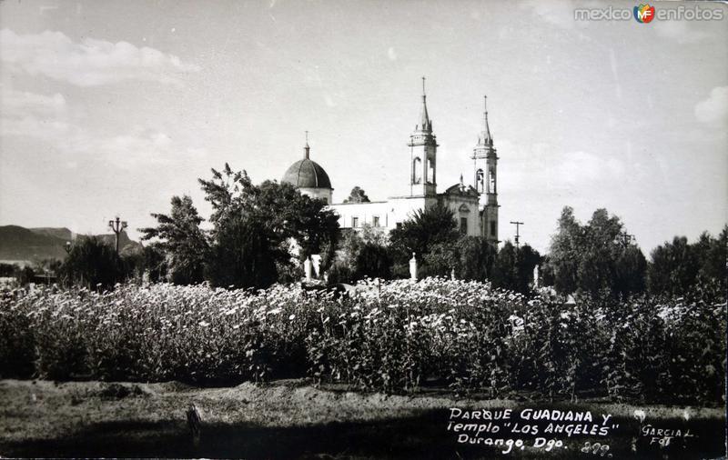 Parque Gudiana e Iglesia de Los Angeles