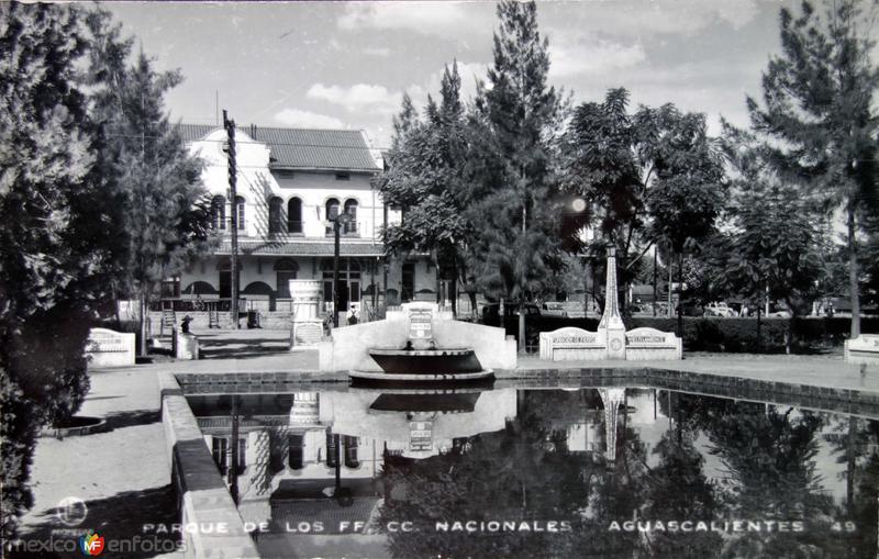 Parque de los Ferrocarriles de Mexico,